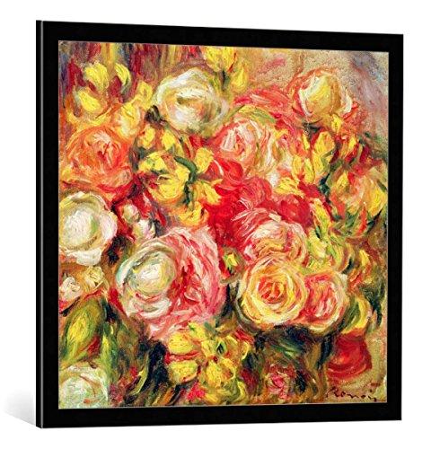 kunst für alle Bild mit Bilder-Rahmen: Pierre Auguste Renoir Roses 1915