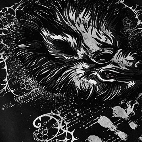 tasmanisch Teufel Angst Tiere Damen Schwarz S-2XL Muskelshirt | Wellcoda Schwarz