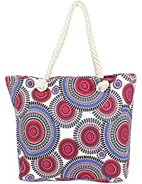 Multicolor Circular Patterened Hand Bag For Mother's Day