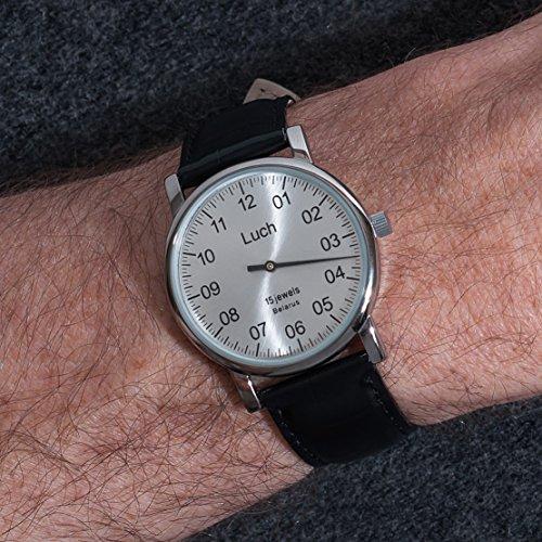 Luch Single Hand Mechanische Armbanduhr 37471762 - 6