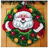 7 Modell Weihnachten Knüpfteppich für Kinder und Erwachsene zum Selber...