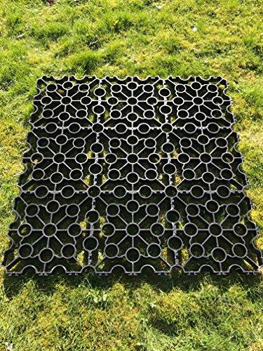 3-m-schwarz-quadratisch-kunststoff-gehwegplatten-auffahrt-grid-turf-gras-rasen-path-kies-displayschu