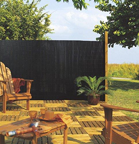 Intermas - Canisse PVC simple face Vert 85% occultant 1x3 m PLASTICANE Intermas
