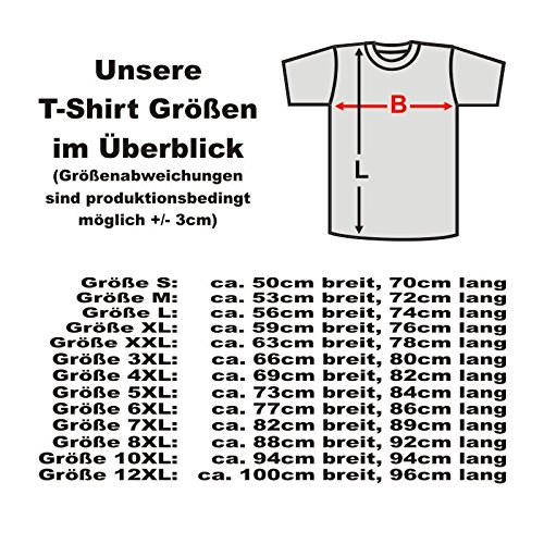 T-Shirt Cottbus GERMANY, Herren Städte Fanshirt mit Bundesadler edel bedruckt Geschenk Andenken tshirt auch Übergrößen bis 12XL (SFU06-09a) Schwarz