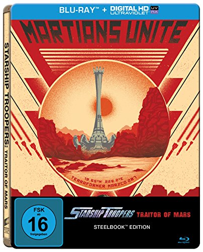 Starship Troopers: Traitor of Mars (Steelbook) [Blu-ray]