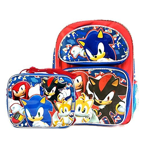 Sonic The Hedgehog 16 School Backpack Insulated Lunch Bag Set Ver 2 Buy Online In Cayman Islands Kbnl Products In Cayman Islands See Prices Reviews And Free Delivery Over Ci 60 Desertcart