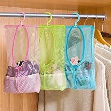 Okayji 3 Piece Polyester Laundry Bag, Multicolour
