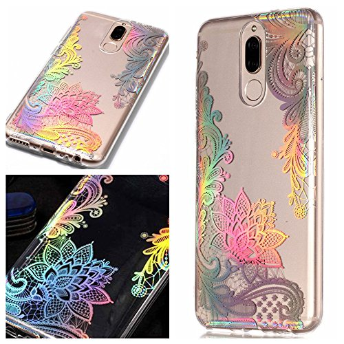 8b8b69724ba Funda Huawei Mate 10 Lite, CHcase Glitter Sparkle Bling Cute Case con Rave  Holographic Laser