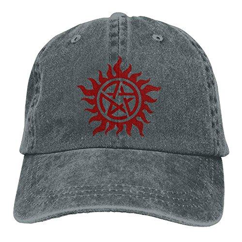 Aoliaoyudonggha Denim Baseball Cap Supernatural Men Women Snapback Casquettes Adjustable Baseball Hat