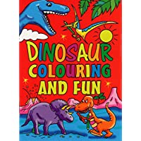 12 x Mini Dinosaur Colouring Activity Books Boys Girls A6 Party Bag Fillers