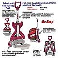 GO EASY ONE Schulranzen-Trolley Schulrucksack-Trolley Universaltrolley Tragehilfe