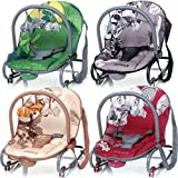 Baby Bouncer JUNGLE (including removable play arch) (GRAY) - Best Reviews Guide