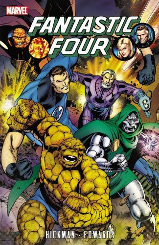 Fantastic Four by Jonathan Hickman - Volume 3 (Fantastic Four (Marvel Paperback)) by Neil Edwards Jonathan Hickman (6-Apr-2011) Paperback