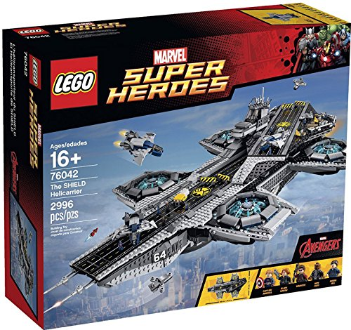 LEGO Super Heroes 76042 - Helicarrier S.H.I.E.L.D.