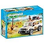 Playmobil Vida Salvaje - Vehículo safari con leones (6798)