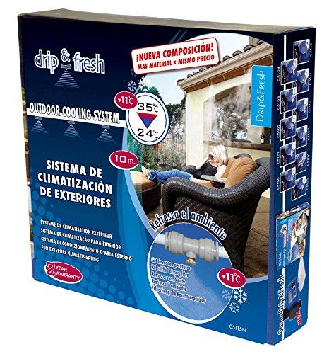 Kit nebulizador para jardín y terraza Deip&Fresh C5115N