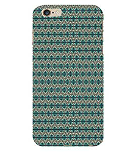 ifasho Designer Phone Back Case Cover Apple iPhone 6s Plus :: Apple iPhone 6s+ ( I love Gujarat Blue Wood Look )