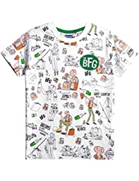 Fabric Flavours Roald Dahl's BFG repeat Print T-Shirt