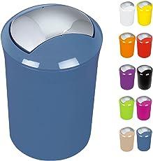 Kazai Kosmetikeimer 3 Liter Design Treteimer Mit Echtem Bambus