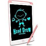 Richgv Tableta de Escritura LCD, Pizarra Infantil 10 Pulgadas, Pizarra magnética para niños, Juguetes electrónicos para Dibuj