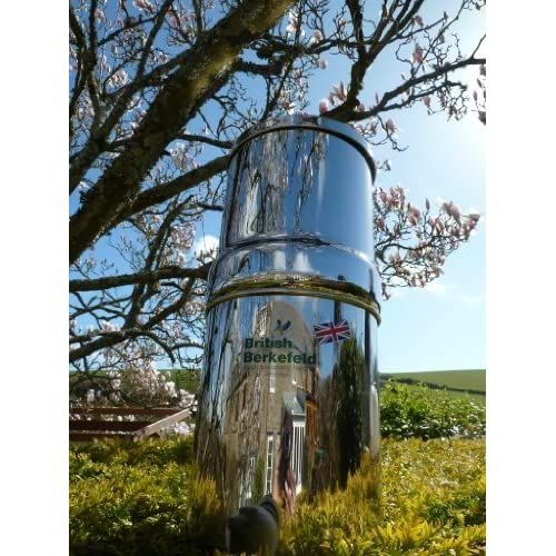 61XLQZG9AtL. SS500  - Stainless Steel Gravity Water Purifier with Super Sterasyl Filters - UK ONLY