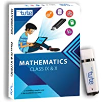 LetsTute CBSE Maths Class 9 & 10 Combo Pen Drive - Effective Digital Learning Topicwise Mathematics In English with Complimentary Chart Book - Pendrive for Windows - Ideal Gift For Students