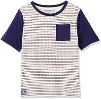 RED WAGON T-Shirt Nautica a Manica Corta Bambino, Multicolore (Multi), 104 (Taglia Produttore: 4 Anni)