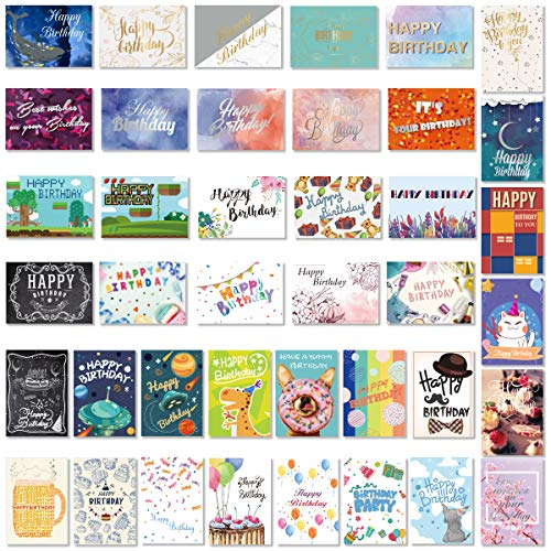 PartyKindom Birthday Cards Assor...