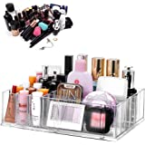 Multifunctional Acrylic Makeup Organizer Holder Countertop Vanity Storage Stand for Lipstick Eyeshadow Palette Perfume and Mo