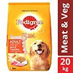 Pedigree Adult Dry Dog Food, Meat & Vegetables, 20 kg Pack