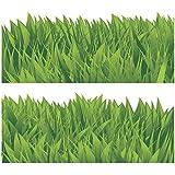 "Greca Wandkings ""greca de hierba"", 2 unidades de 120 cm, longitud total: 240 cm, autoadhesiva"