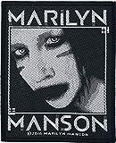 Marilyn Manson Villain Patch noir