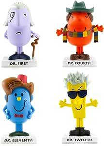 BBC Lot de 4 Figurines Homme No Doctor Who Eleventh/DR 12.