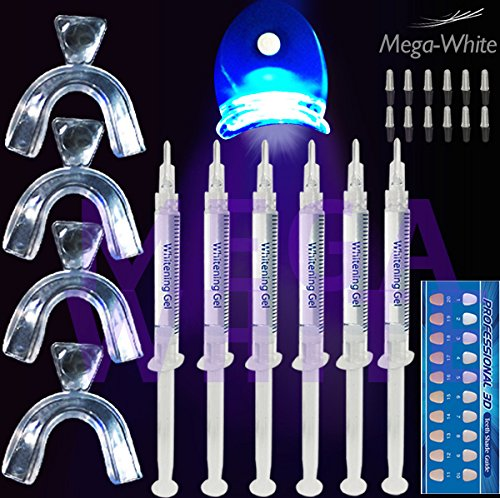 crystal-whites-5-gel-teeth-whitening-pro-home-kit-contains-lazer-light-and-4-x-mouth-trays-professio