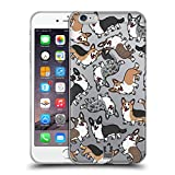 Head Case Designs Cardigan Welsh Corgi Hunde Rassen Modelle 10 Soft Gel Hülle für iPhone 6 Plus/iPhone 6s Plus
