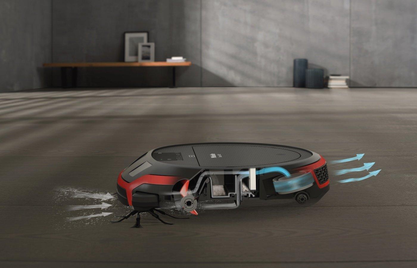 Miele Scout RX2 Saugroboter (4 Reinigungsmodi, Bedienung per App, Akkulaufzeit 60 min, präzise und lückenlose Navigation…