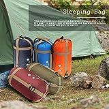 CAMTOA® ultraleicht, klein, warm Schlafsack Hüttenschlafsack, Outdoor Wasserdicht Camping Sleeping Bag Sommerschlafsack Blau - 6