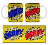 Danny Comic Book Art Personalised Name Mug