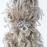 Peineta de estilo vintage para el pelo, de Handmadejewelrylady, para boda, fiesta, con diamantes de imitación, accesorios para el pelo