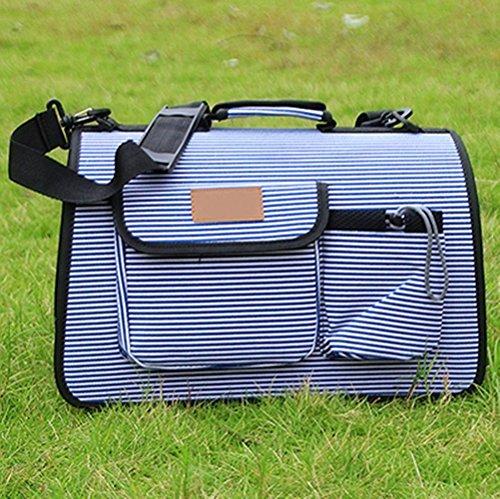 OOFWY Zaino Pet / modo casuale di stile / cane e gatto pacchetto di viaggio / portatili Borse di spalla / poliestere 600D Oxford tessuto Materiale , 4-Small 2-Large