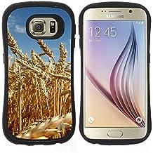 Super Galaxy iFace Series Tpu Silicona Carcasa Funda Case // V00005514 campo de trigo amarillo madura // Samsung Galaxy S6 (Not Fits S6 EDGE)