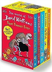 David Walliams Series 1 - Best Box Set Ever 5 Books Collection Set (Billionaire Boy, Mr Stink, The Boy in the Dress, Gansta Granny, Rat burger)