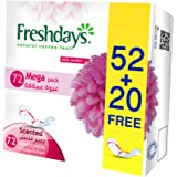 Freshdays Daily liners Normal Scented 72 pads