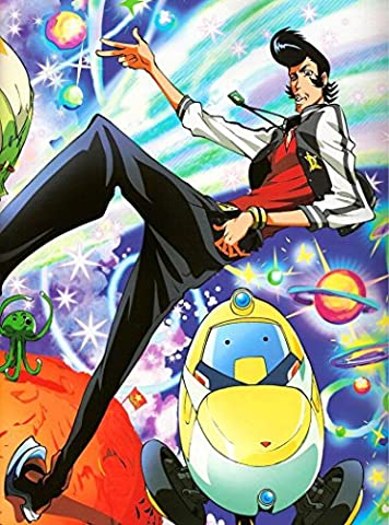 Space Dandy 2 (24x32 inch, 60x81 cm) Silk Poster Affiche de la Soie PJ1C-0297