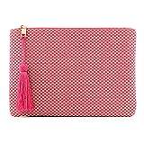 Otto Designer Damen Clutch - Unterarmtasche - Kleiner Kreditkartenhalter und Münzfach - Ultra-schlanke, leichte Tasche