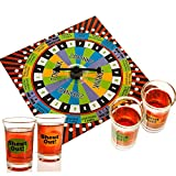 New A to Z Board Shot Shout Drinking Adult Game Party Bar 4 Shot Glass Xmas Gift