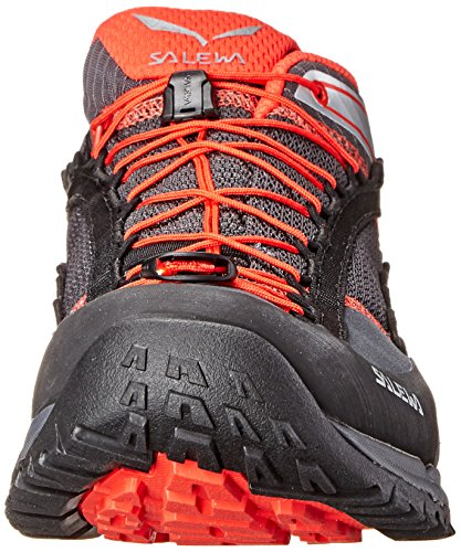 Salewa Ms Speed Ascent, Chaussures de Sport Homme, Noir Multicolore - Negro / Rojo   (Carbon / Flame 0794)