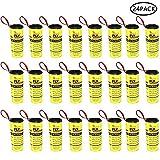PAWACA 24 Rotolini Acchiappamosche, Strisce Adesive Cattura-mosche, Carta Moschicida Per Insetti, Strisce Di Carta Mosche Per Zanzare, Falene Al Coperto O All'aperto - Eco-friendly 100% Non Tossico