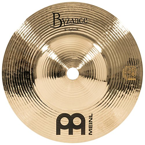 Meinl Cymbals B6S-B Byzance Brilliant Serie 15,24cm (6 Zoll) Splash Brilliant Finish Becken