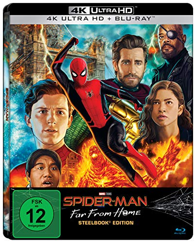 Spider-Man: Far From Home (Limited UHD Steelbook) [Blu-ray]